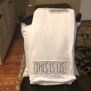 🌻🌻Rae Dunn THIS IS US blanket throw🌻